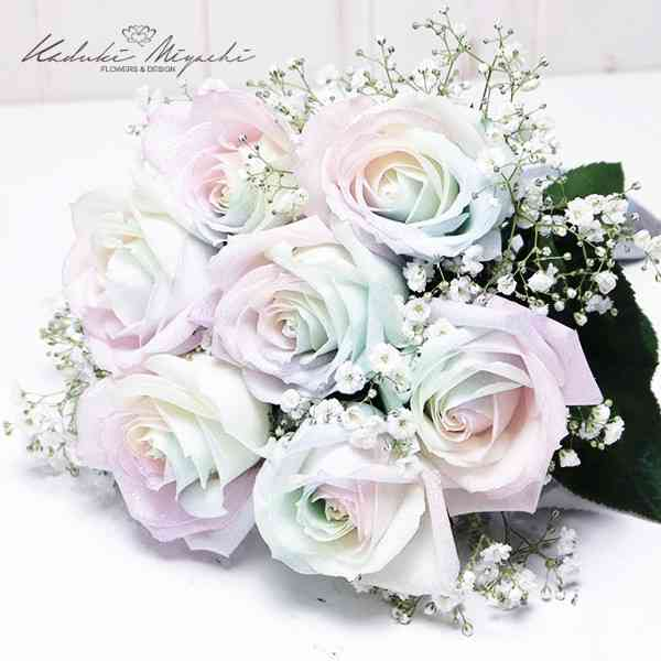 薔薇の花束をください【画像】