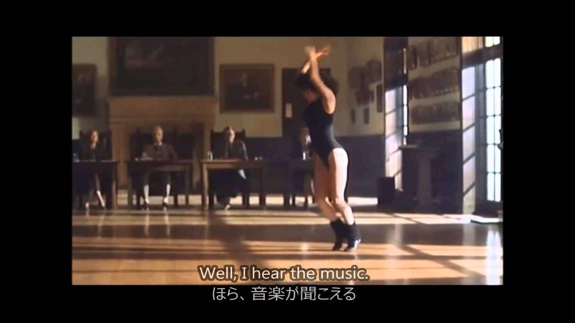 フラッシュ ダンス / 歌詞 - YouTube