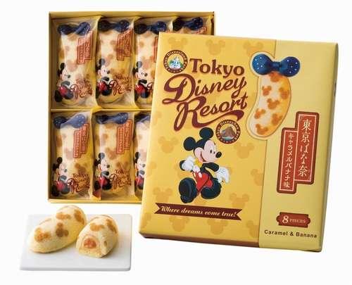 TDR限定のミッキー柄「東京ばな奈」