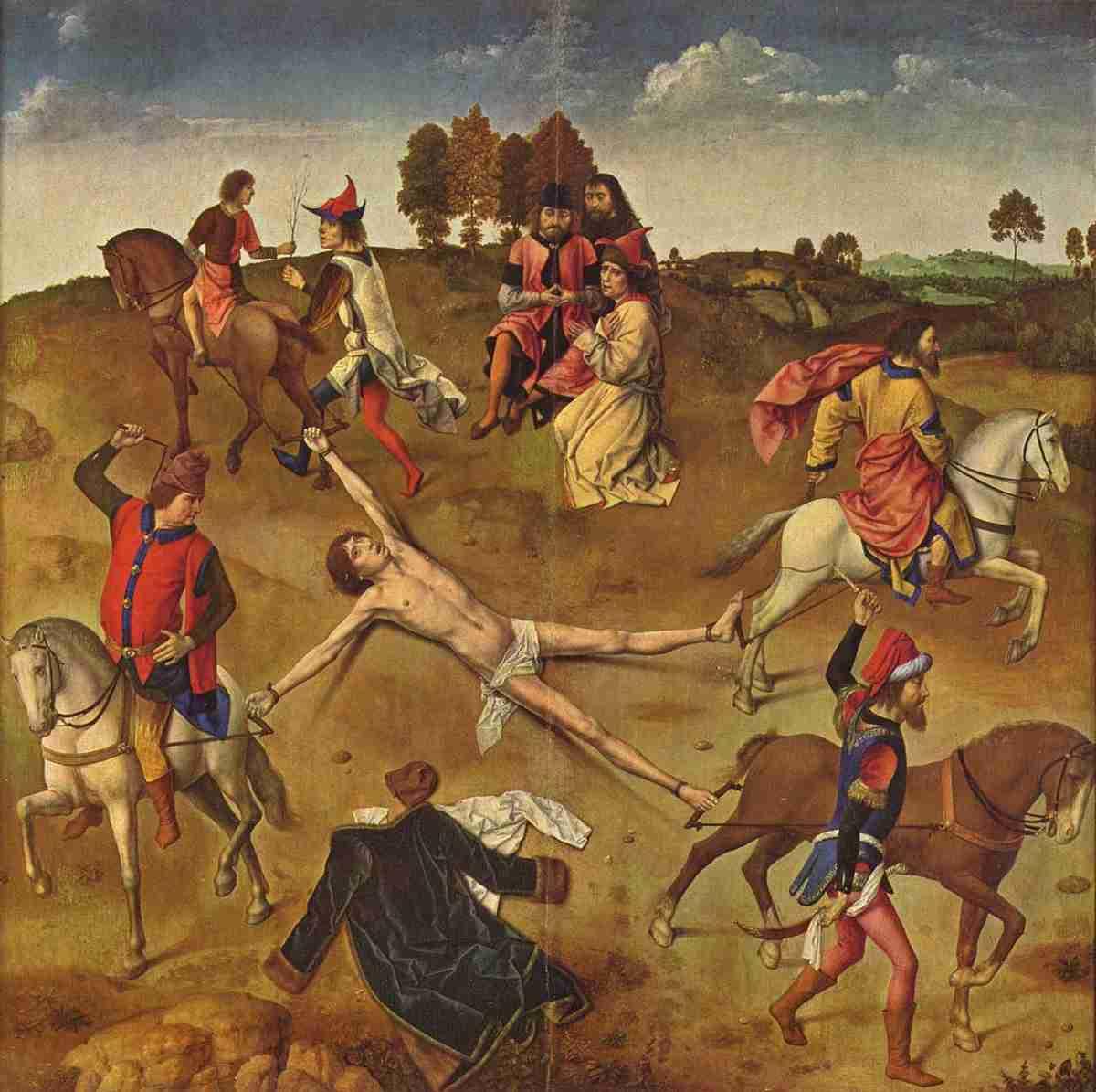 八つ裂きの刑 - Wikipedia