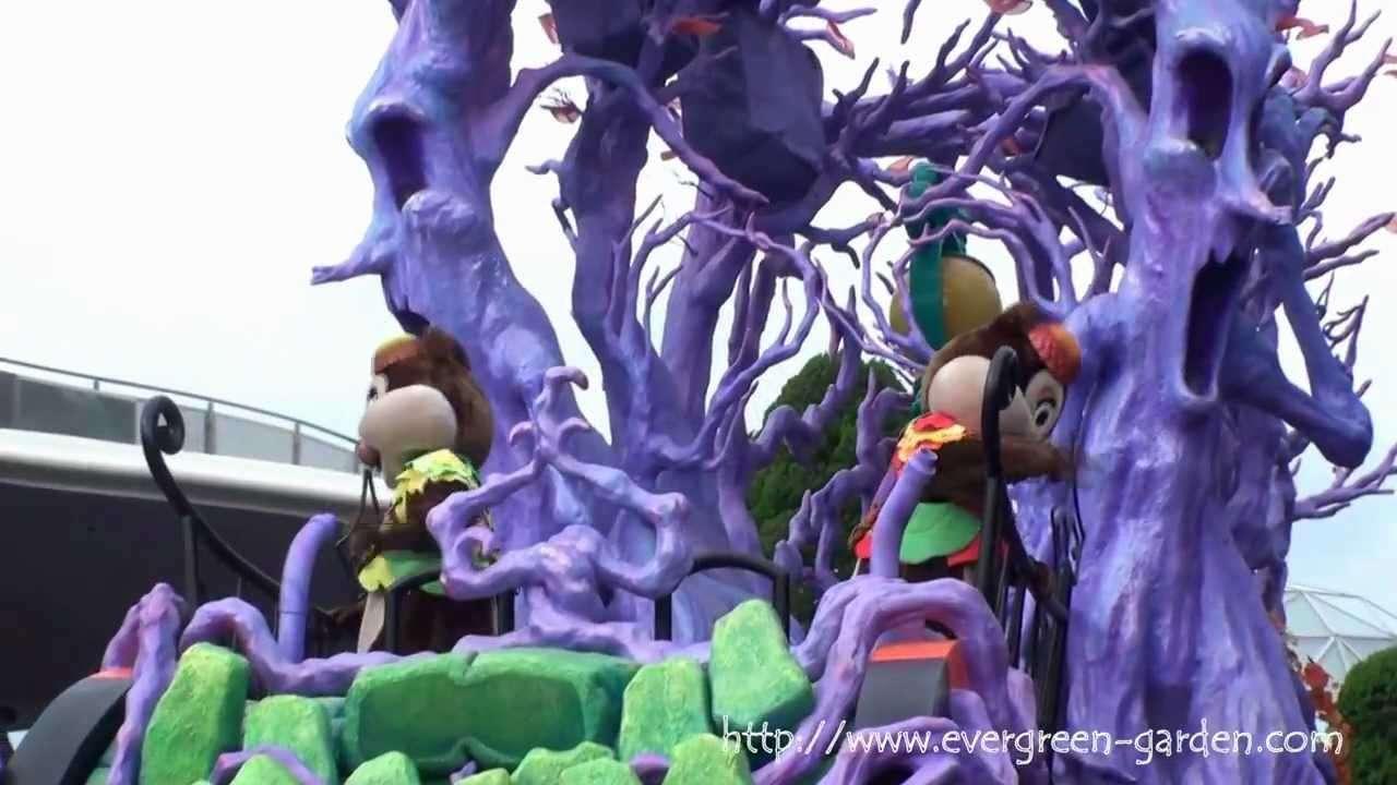 ディズニーハロウィーン2010 ~東京ディズニーランド~ - YouTube