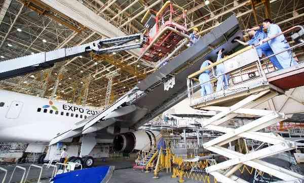 JAL機体の3割は「中国の工場」で整備されていた