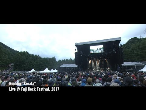 "Bonobo ""Kerala"" / Live at Fuji Rock Festival '17 - YouTube"