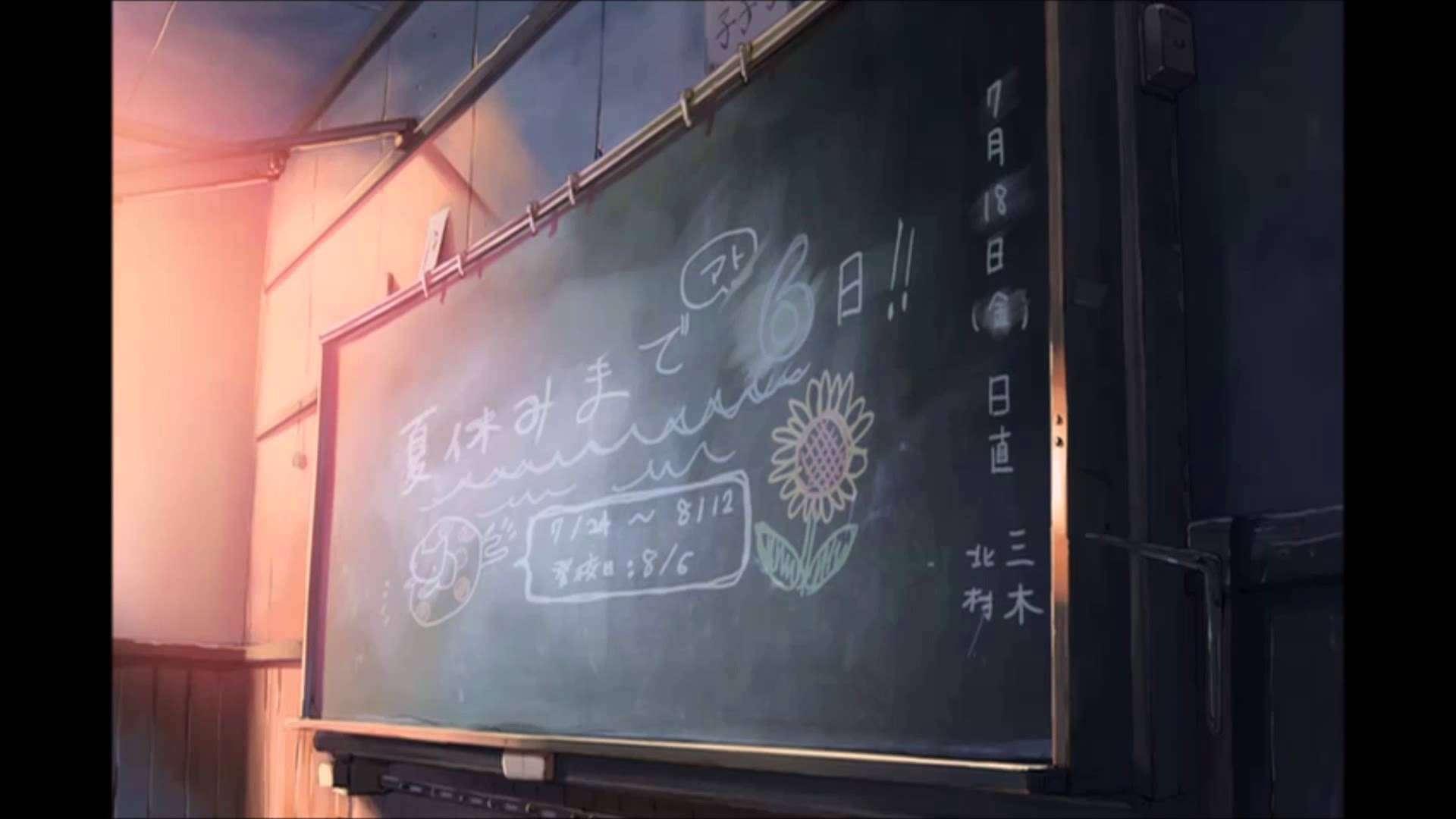 【MAD】 雲のむこう、秒速の葉の庭 【雨】 - YouTube