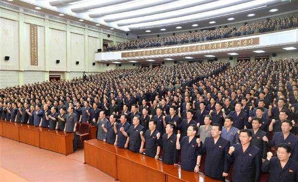 【北朝鮮情勢】「米国を灰も残らぬよう掃討」 北が反米総決起集会「南(韓国)も占領」(1/2ページ) - 産経ニュース