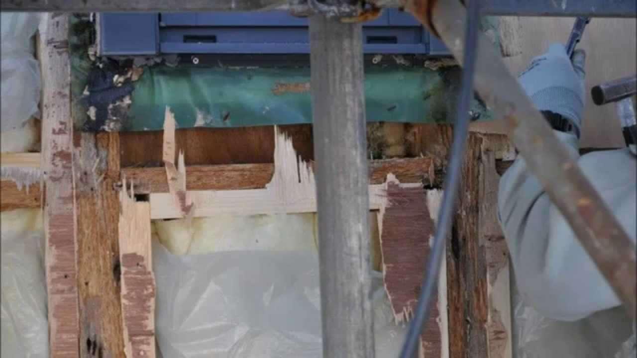 雨漏り 蔵のある家  雨漏り - YouTube