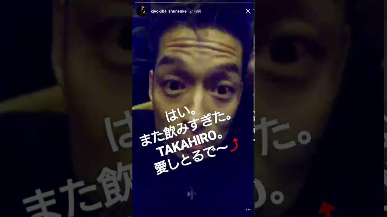 清木場俊介&TAKAHIRO 稀な2ショット! - YouTube