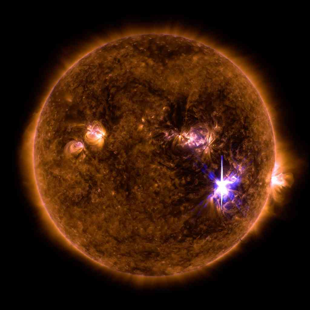 Sun Unleashes Biggest Solar Flare for Over a Decade Causing Radio Blackout