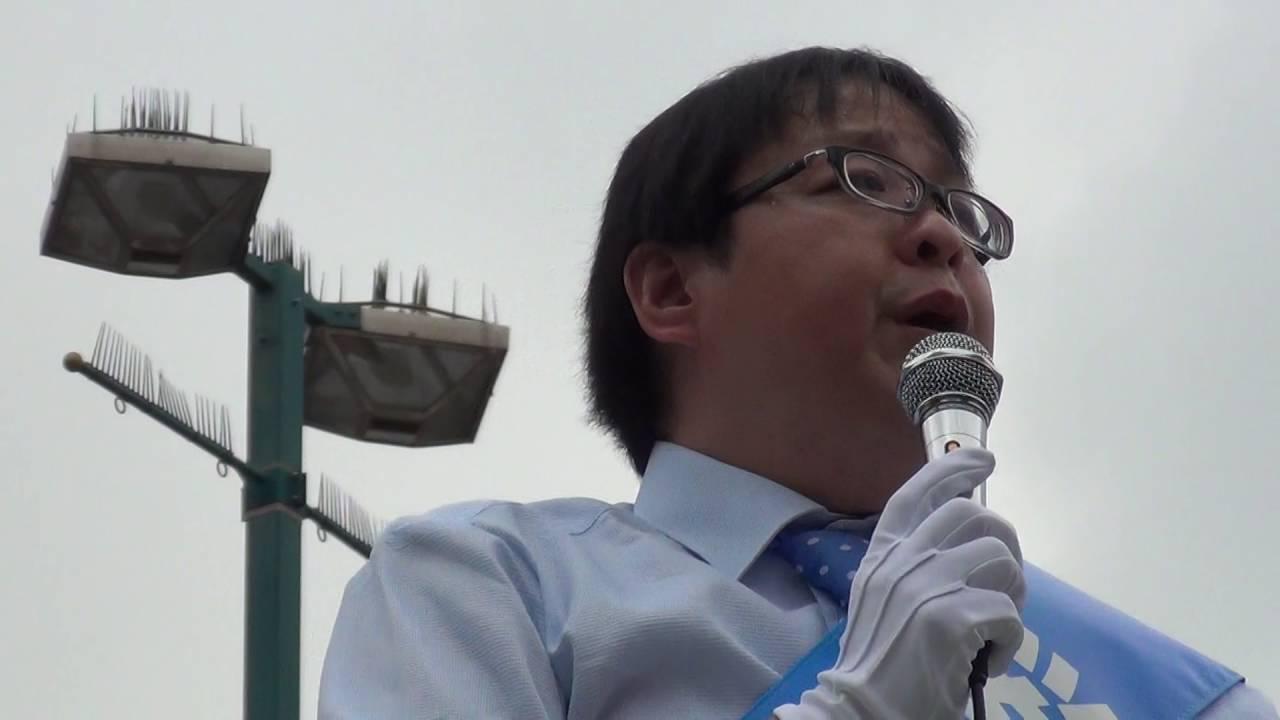 桜井誠 都知事選 2016 練馬駅北口演説 2016/07/17 - YouTube