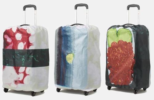 寿司スーツケースカバーに新作、「たこ」「いくら」「さば」の3種類