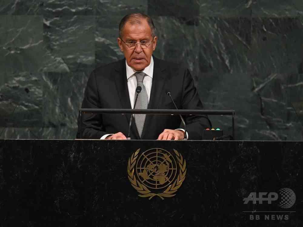 米朝首脳の応酬は「園児のけんか」 ロシア外相 写真2枚 国際ニュース:AFPBB News