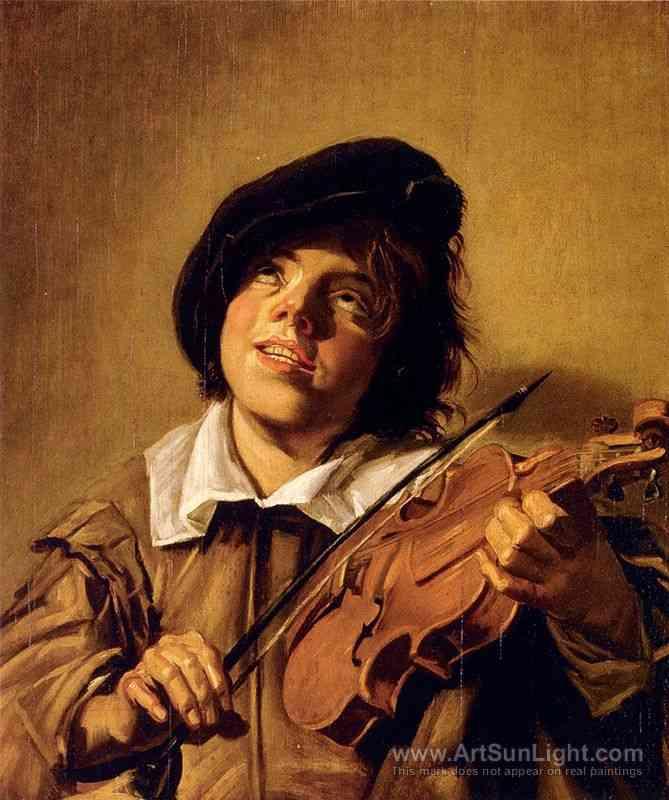 【画像】バイオリンを弾いている男の人