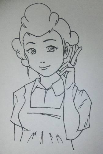 サザエさんをどこまで美人に描けるか、挑戦してみようぜwww : あの時の2ちゃんねる
