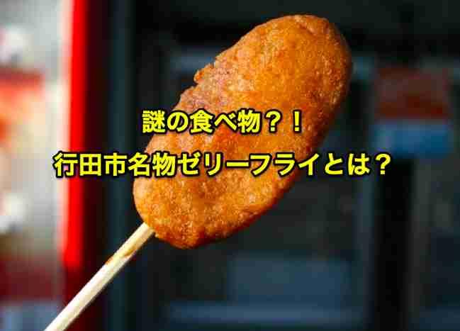 【謎の食べ物?!】行田市名物ゼリーフライとは?   VIVA埼玉