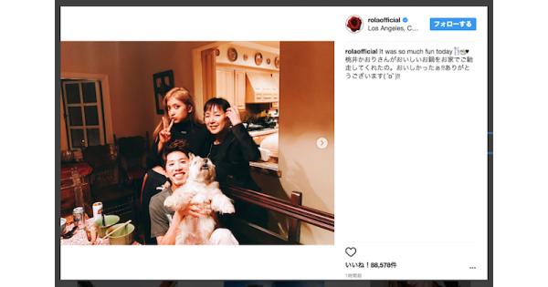 「家族みたい」「すごいメンバー」ローラがワンオクTaka&桃井かおりとの豪華な3ショットを披露ッ! - 耳マン