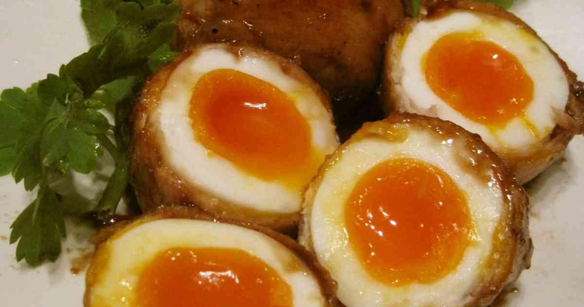 ☆とろ~り半熟卵の豚肉巻き☆ by ぽにえ [クックパッド] 簡単おいしいみんなのレシピが274万品