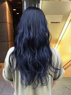 【2017年秋】ブルーブラック 紺色  ナチュラルモード/QUARRY 【クオリー】のヘアスタイル|BIGLOBEヘアスタイル