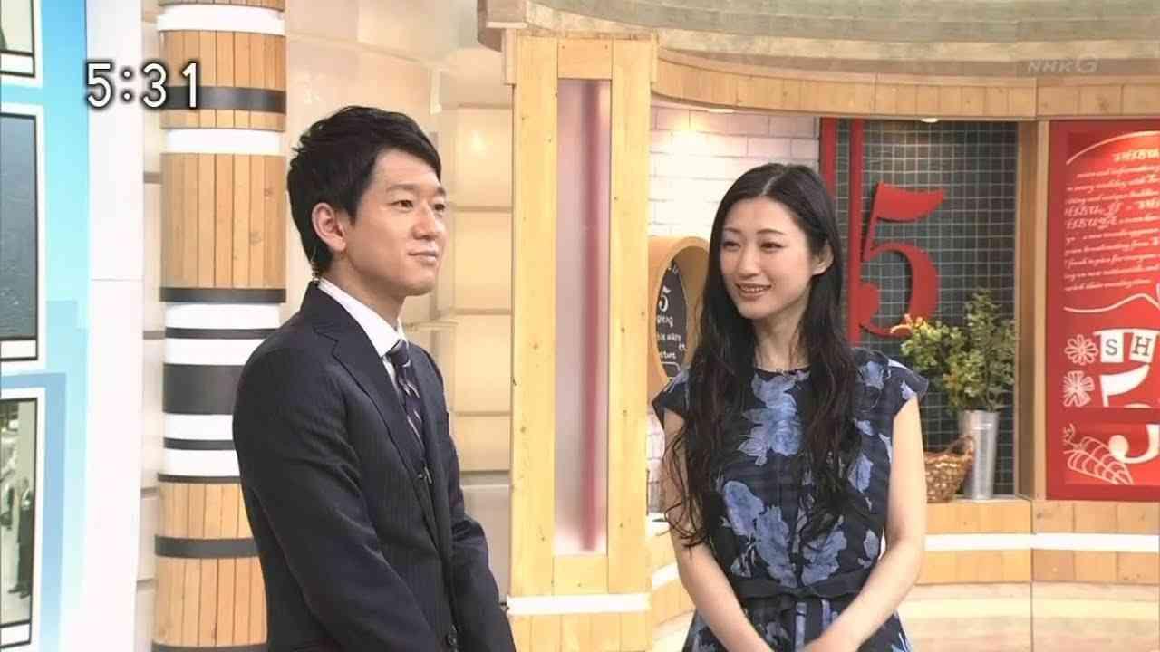 NHK瀧川剛史アナ壇蜜に照れまくる - YouTube