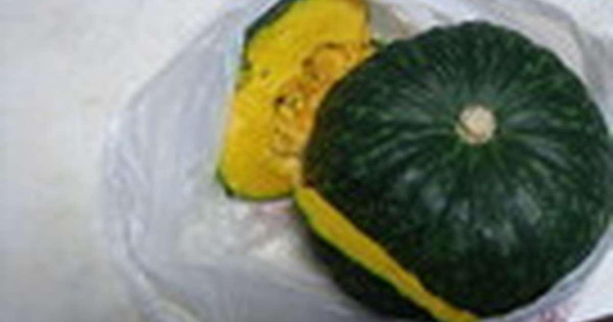 簡単衝撃的かぼちゃのカット★包丁いらず! by MOMOりん [クックパッド] 簡単おいしいみんなのレシピが274万品