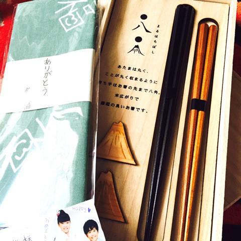 平愛梨、鈴木福くんからもらった夫婦箸の写真公開に「センスある」の声 - Ameba News [アメーバニュース]
