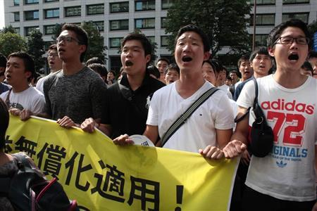 「朝鮮人をなめるな!」怒号渦巻く東京地裁前 朝鮮学校無償化訴訟 (産経新聞) - Yahoo!ニュース