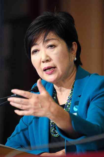 小池氏「私のエネルギーは都の方に」 国政復帰を否定:朝日新聞デジタル