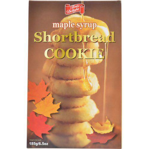 Yahoo!ショッピング - テイストデライト メイプルリーフ ショートブレッドクッキー 185g|インディアン