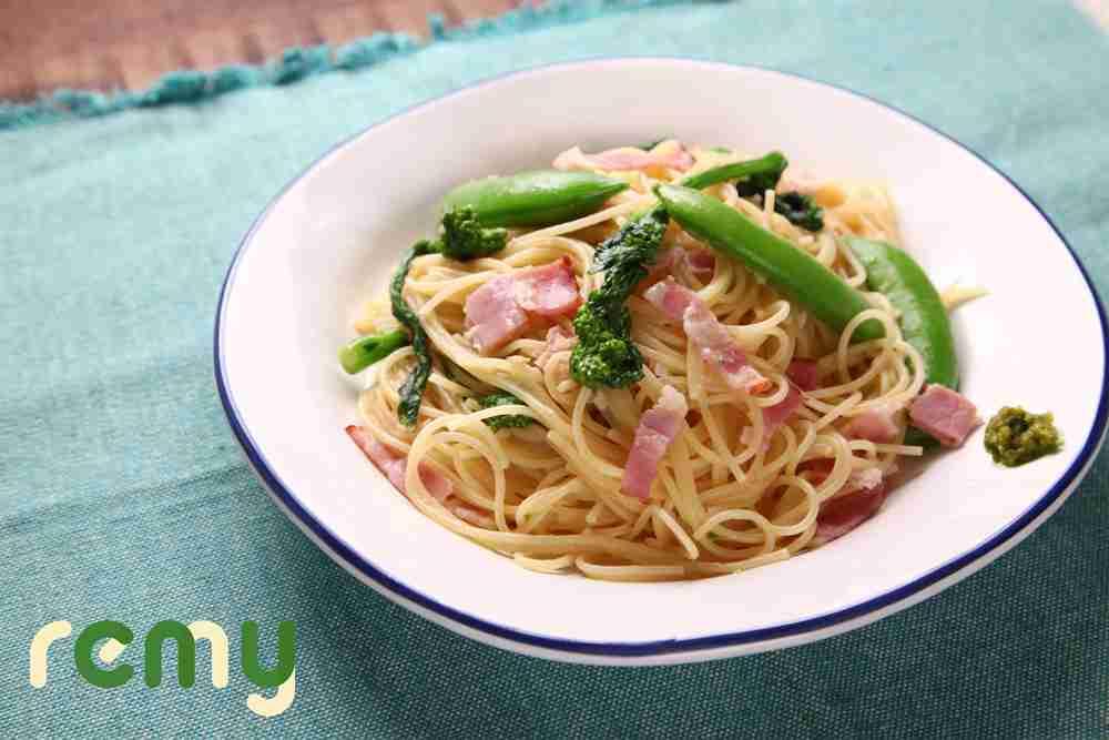 レミパンひとつで「春野菜パスタ」 / remy(レミー)- 平野レミ公式サイト