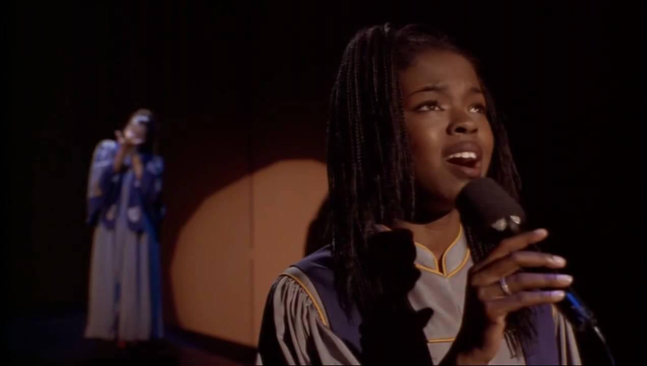 Sister Act 2 (Finale) Lauryn Hill - Joyful Joyful With Lyrics (Ft. Whoopi Goldberg) - YouTube