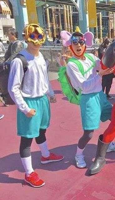 制服はもう古い?高校生の間で「体操着ディズニー」が流行の背景