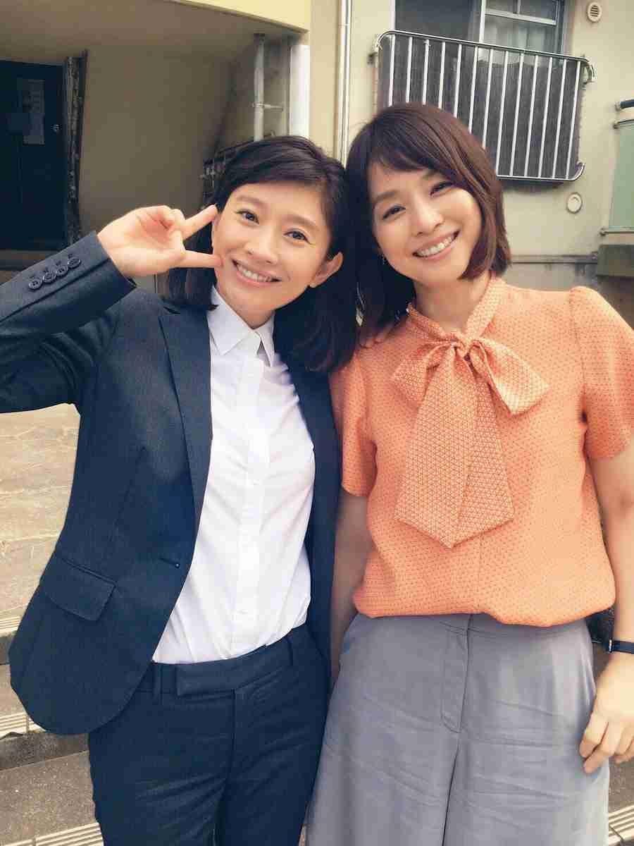 篠原涼子と石田ゆり子の2ショットに反響 「どちらも女神」「選べない」