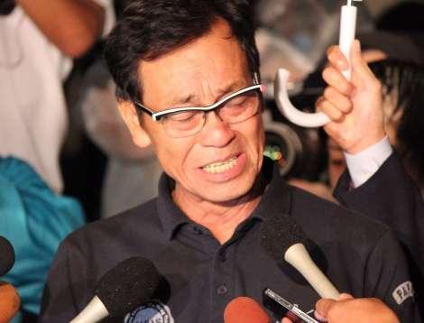清水アキラ、三男・清水良太郎容疑者逮捕に涙の謝罪 事務所解雇の意向
