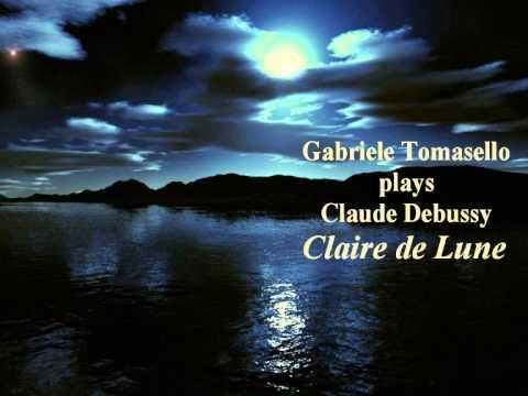 Debussy Claire de Lune ドビュッシー「月の光」  ピアノ - YouTube