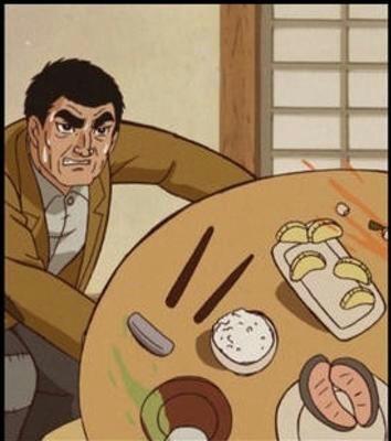 食べ物をぶちまけたことある人〜