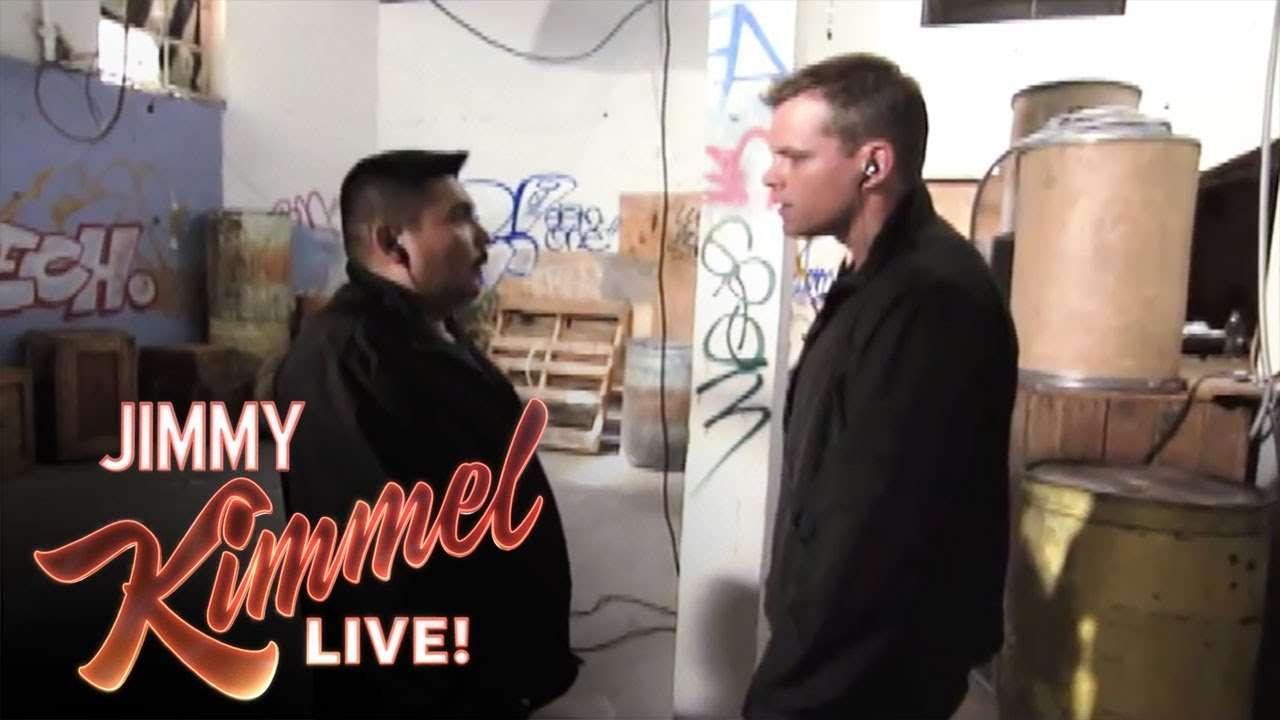 Guillermo in the Bourne Ultimatum - YouTube