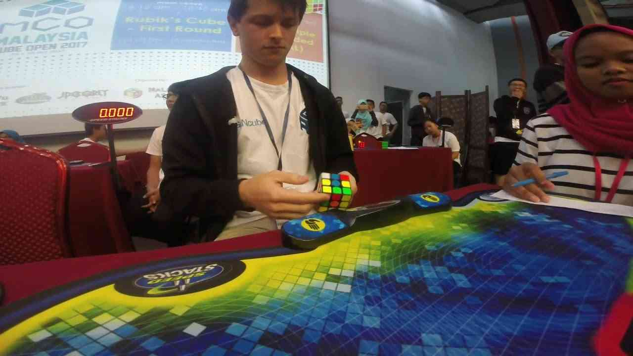 Rubik's Cube World Record Average: 5.80 Seconds - YouTube