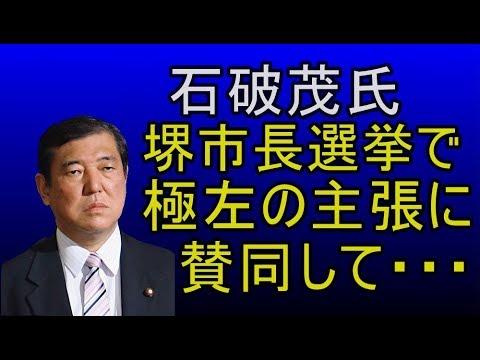 なんと   堺市長選挙で石破茂が・・・! - YouTube