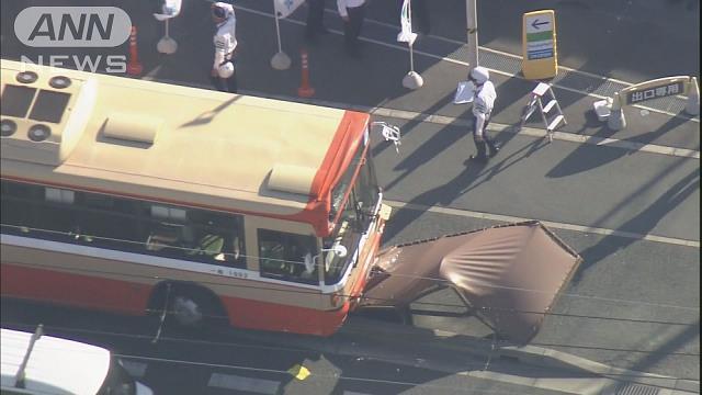 路線バス運転手が意識失う 乗客がハンドル操作し停車 兵庫