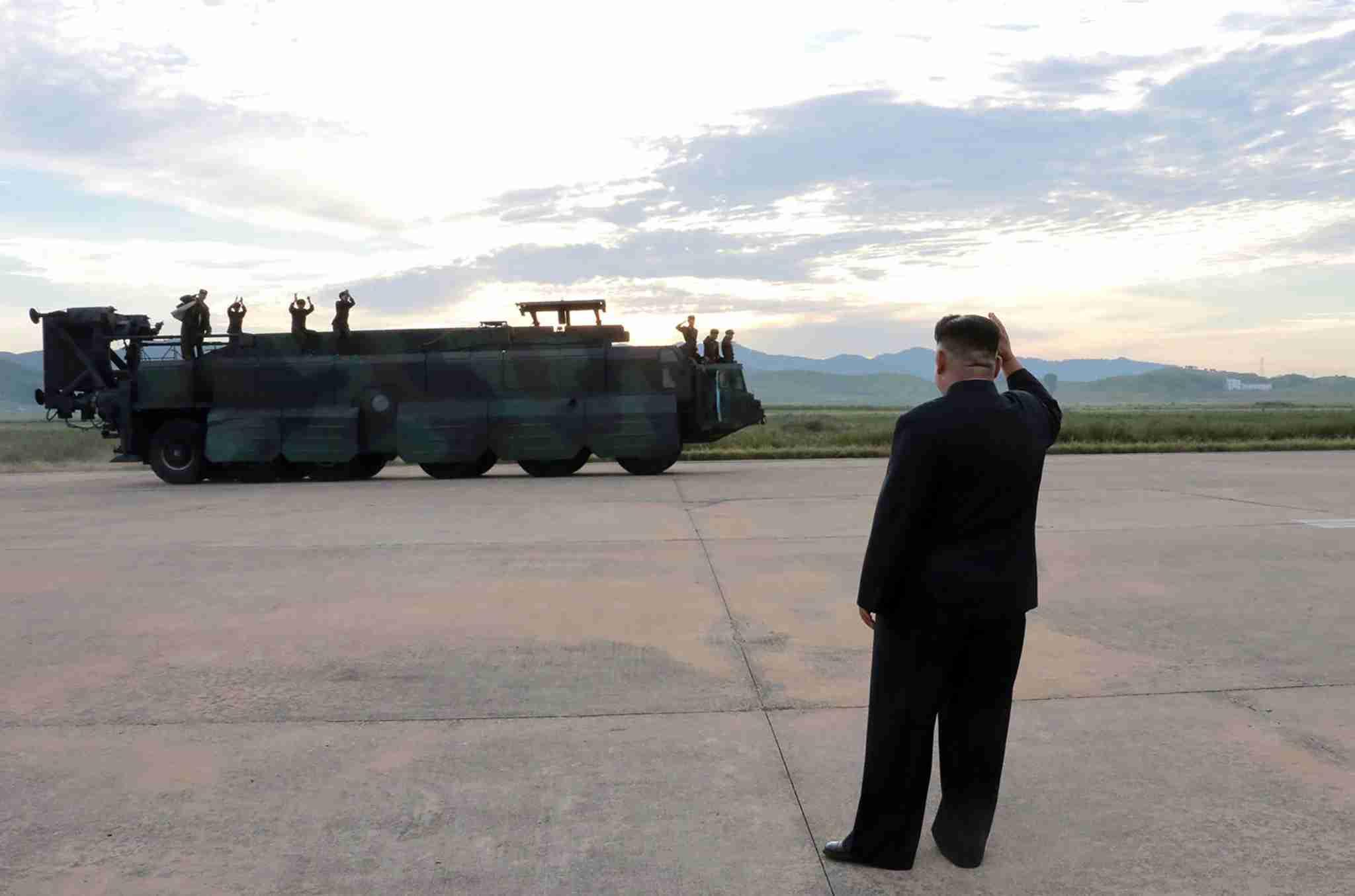 北朝鮮、弾道ミサイル発射準備か 米韓軍事演習控え 報道 (AFP=時事) - Yahoo!ニュース