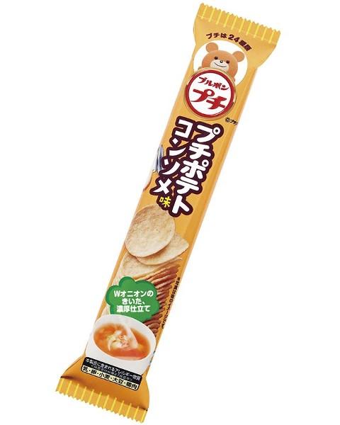 成型ポテトチップスが好き