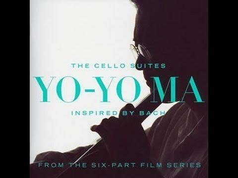 **♪J.S.バッハ:無伴奏チェロ組曲第1番 ト長調 BWV 1007  / ヨー・ヨー・マ(チェロ) - YouTube