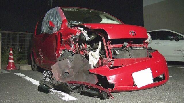 娘と死のうと対向車にぶつかる 母親を逮捕 北九州 | NHKニュース