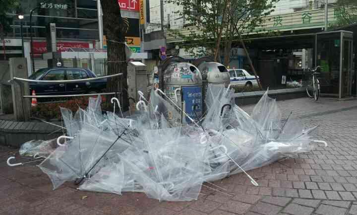 台風21号 首都圏は日曜夜から暴風域