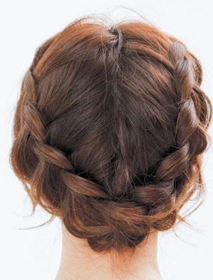 仕事中のヘアアレンジ