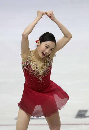 本田真凜が挽回5位もコーチ辛口「練習してほしい」 (日刊スポーツ) - Yahoo!ニュース