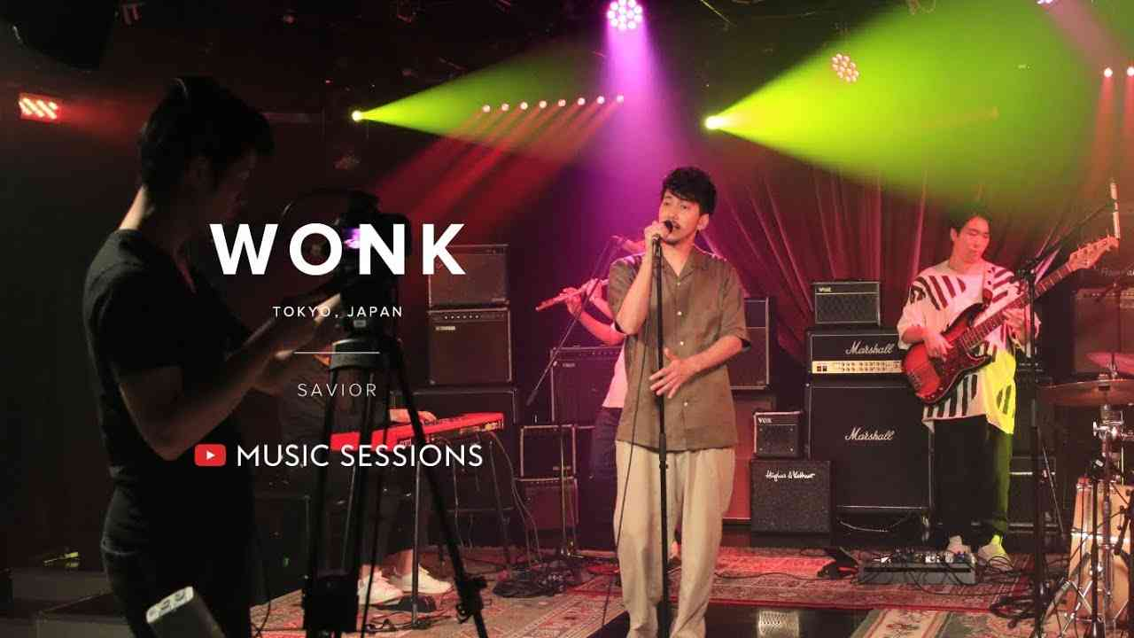 WONK - savior [YouTube Music Sessions] - YouTube