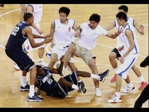 Chinese Kung fu basketball and Kung fu football - YouTube
