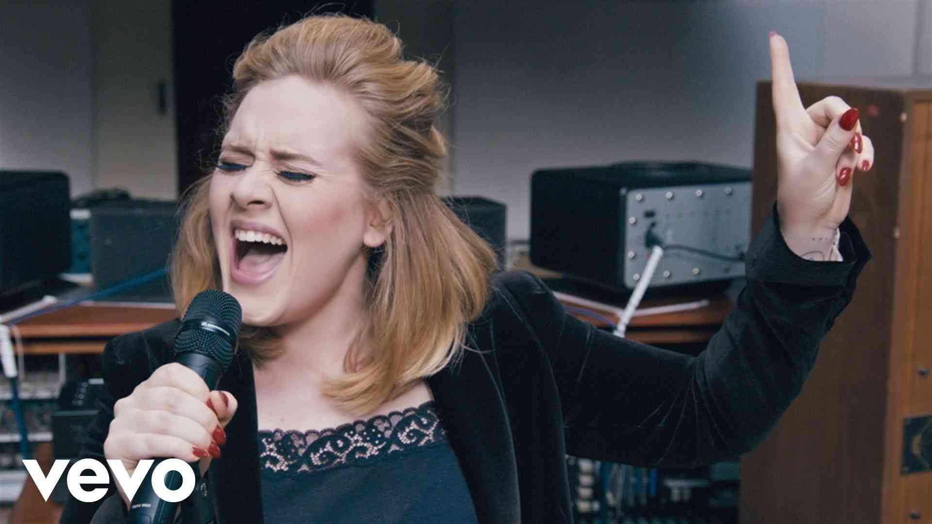 Adele - When We Were Young (Live at The Church Studios) - YouTube