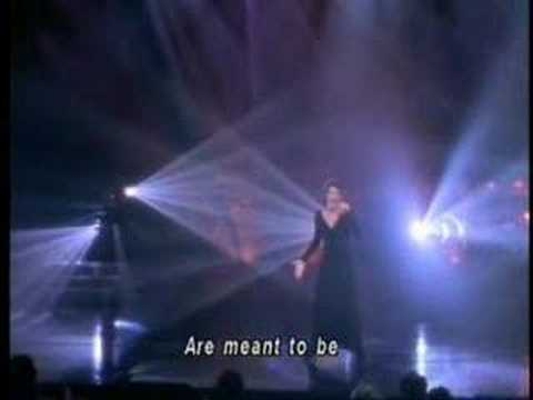"Celine Dion live performance: ""I Can't Help Falling In Love"" - YouTube"