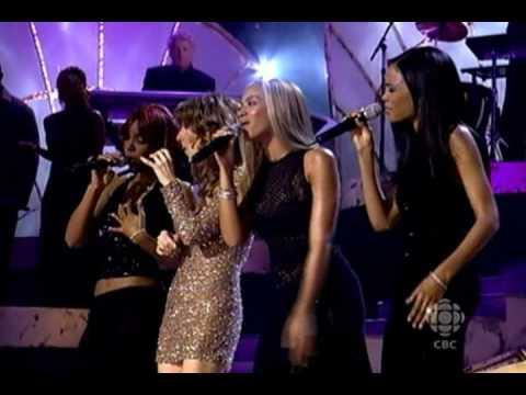 Celine Dion & Destiny's Child Emotion Live @ Kodak Theatre 2002 - YouTube